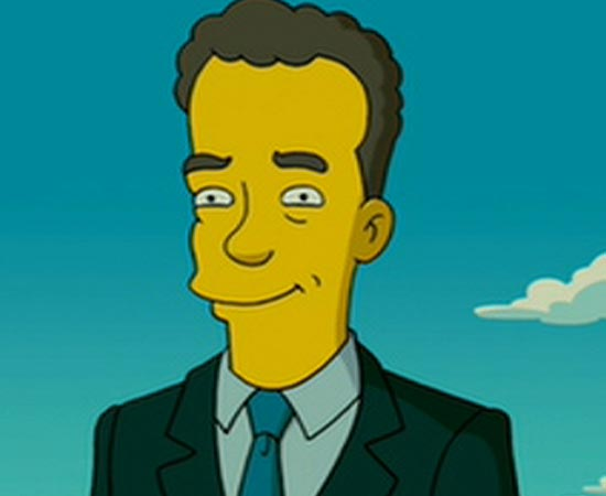 O ator americano Tom Hanks.