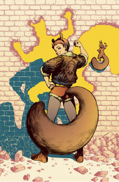 A Garota-Esquilo têm sido um sucesso entre os fãs e as críticas de quadrinhos. Apostando em dilemas do pessoal de 20 e poucos anos, e humor, a HQ terá a capa feita porKamome Shirahama