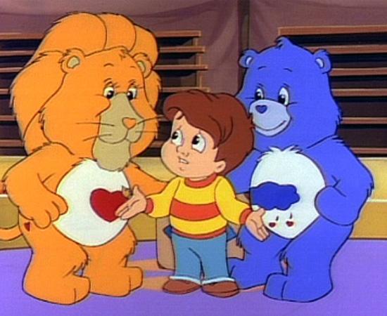 Ursinhos Carinhosos (1985) é um desenho animado sobre ursos que combatem o mal e o vilão Coração Gelado.