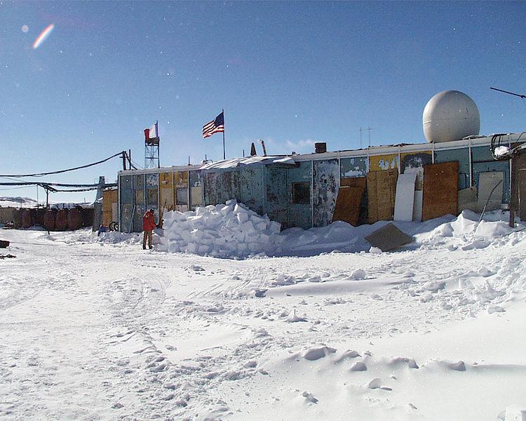 Onde: Estação Vostok, Antártica