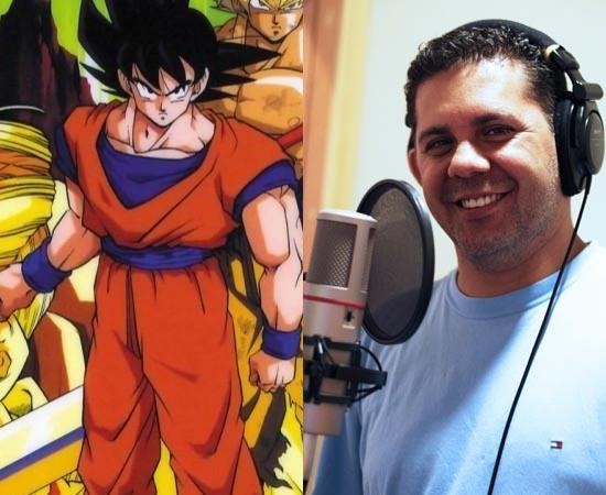 Dublador: Wendel Bezerra. Ficou conhecido por dublar o Goku (fase adulta) em Dragon Ball Z. Também emprestou a voz ao Bob Esponja e a personagens de Edward Norton e Brendan Fraser.