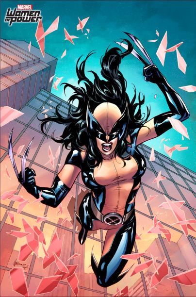 A mutante X-23 assumiu o manto de Wolverine em novembro do ano passado, após o herói falecer. A HQ All-New Wolverine mostra a jornada da heroína. Quem assina a arte da edição é Vanesa Del Ray.