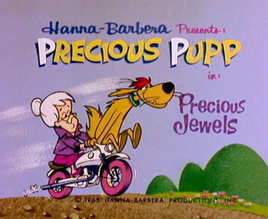 Xodó da Vovó (1965) é um desenho animado sobre um cão muito corajoso que salva sua dona.