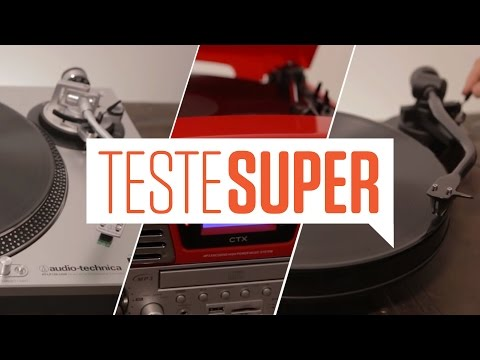 Teste SUPER #17: Toca-discos de vinil