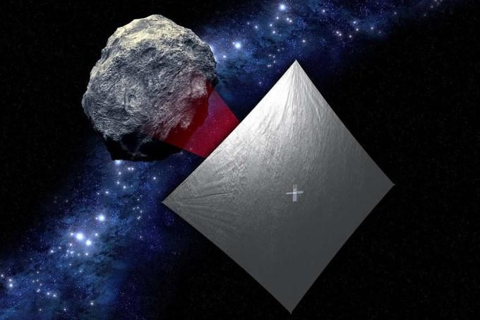 659 asteróides de butuca no espaço