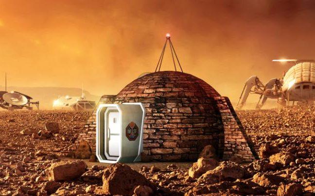 Casa em Marte
