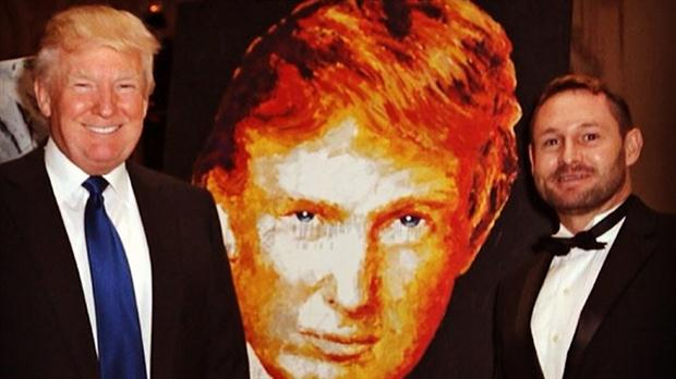 Retrato Trump