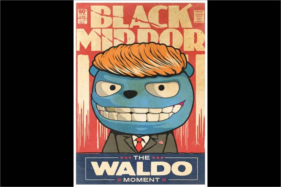 """Em """"Waldo"""", o protagonista cria um personagemvirtual que acaba virando meme e saindo do controle."""