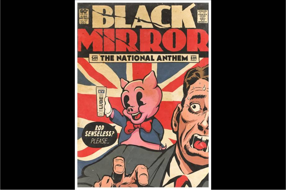 Ah, o primeiro episódio de Black Mirror... esse, ninguém esquece.