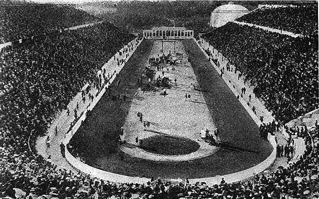Como realizar um evento internacional sem precisar fazer um novo estádio? Os gregos sabiam, em 1906.