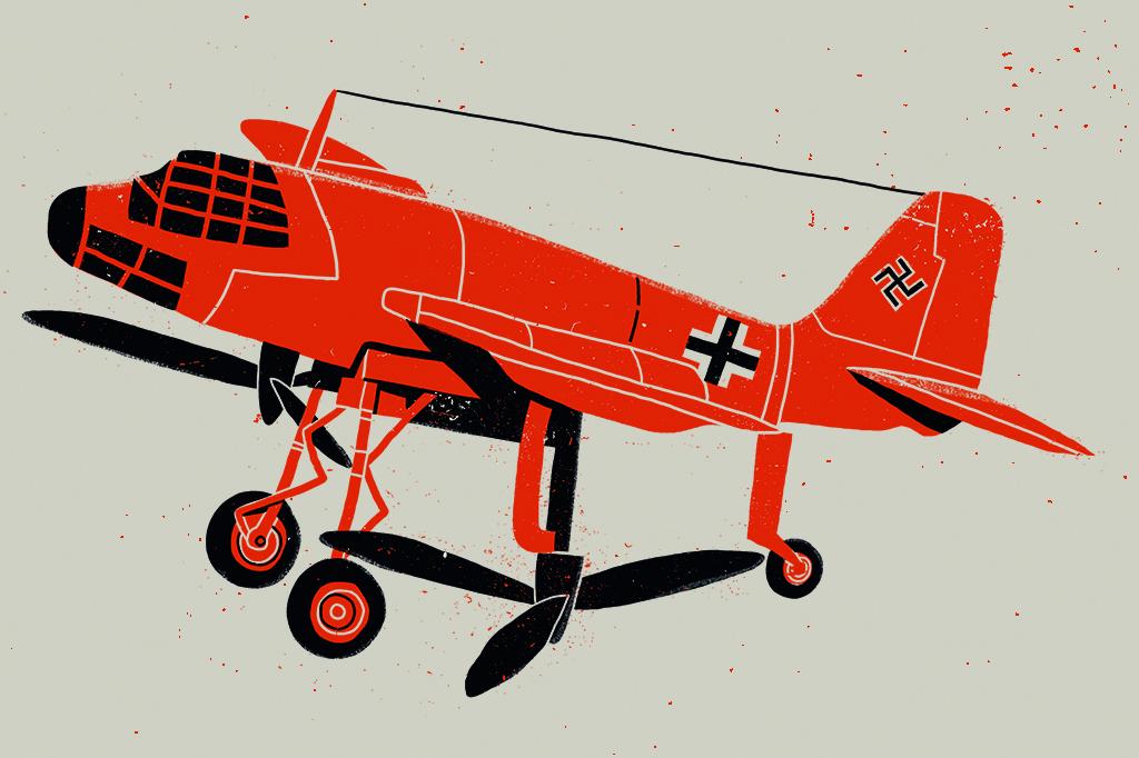 A bomba atômica de Hitler e outras 5 superarmas nazistas: avião canguru