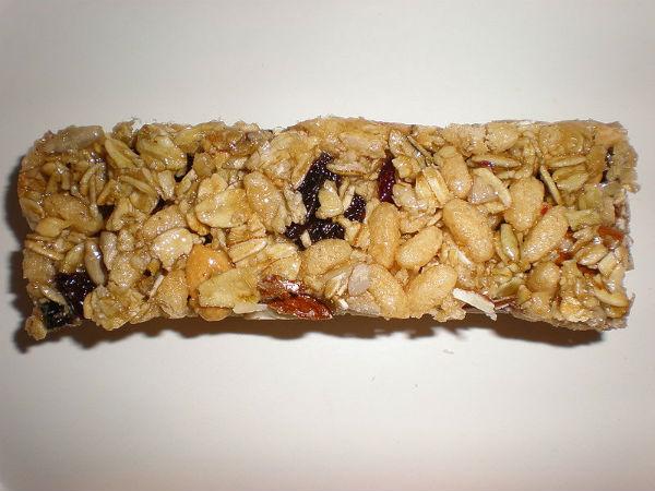 Barra de cereal nem sempre é saudável