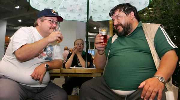 Cerveja dá barriga é um mito