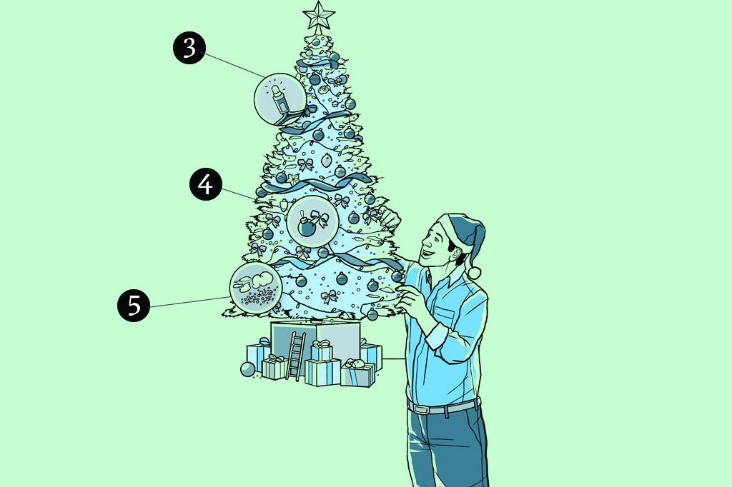 Como montar a árvore de Natal perfeita: capriche