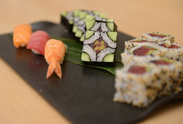 Master Sushi Rolling Class With Morimoto - Food Network New York City Wine & Food Festival Presented By FOOD & WINE