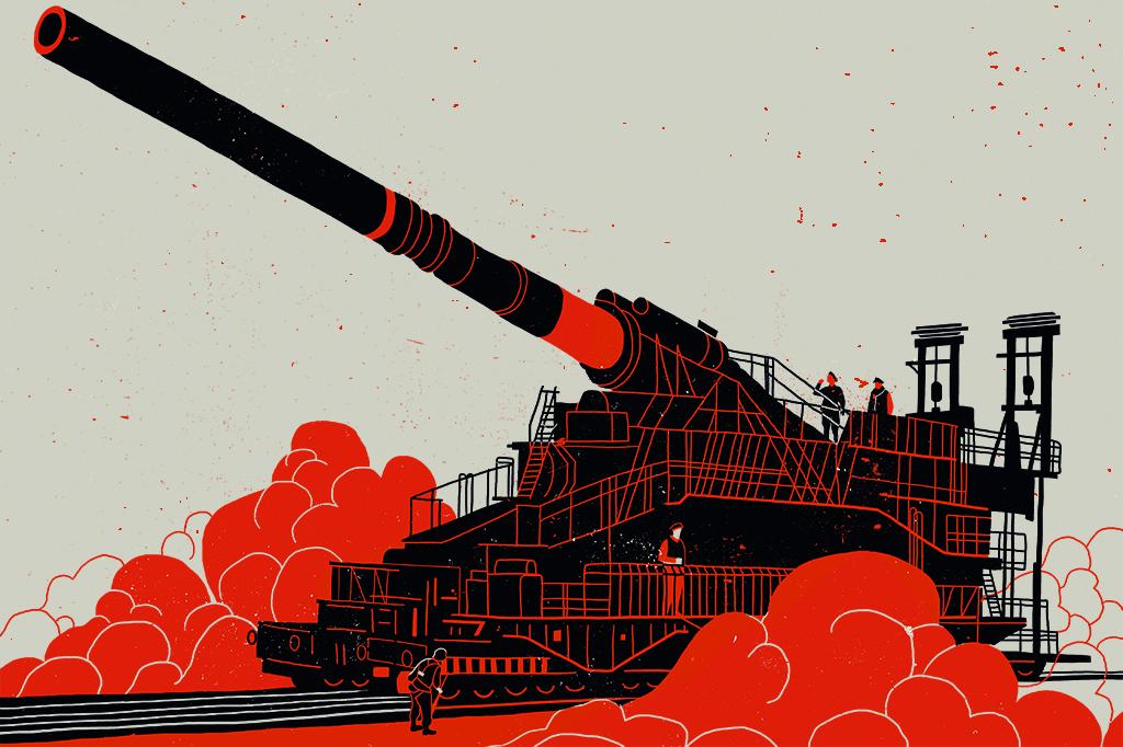 A bomba atômica de Hitler e outras 5 superarmas nazistas: hipercanhão