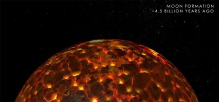 Vídeo da NASA mostra história da Lua em 3 minutos