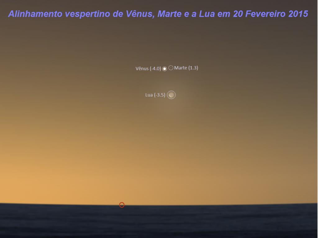 I - Vu00EAnus - Marte e Lua em 20 Fev 2015