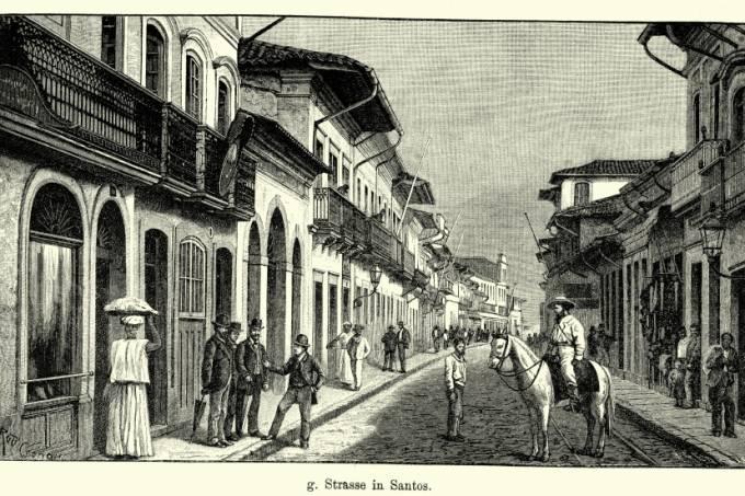 19th Century Brazil – Santos, Sao Paulo
