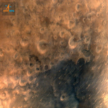 Crédito da imagem: Indian Space Research Organisation