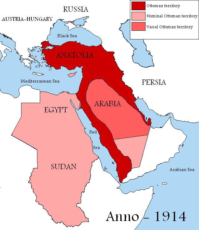 Império Otomano (1914)