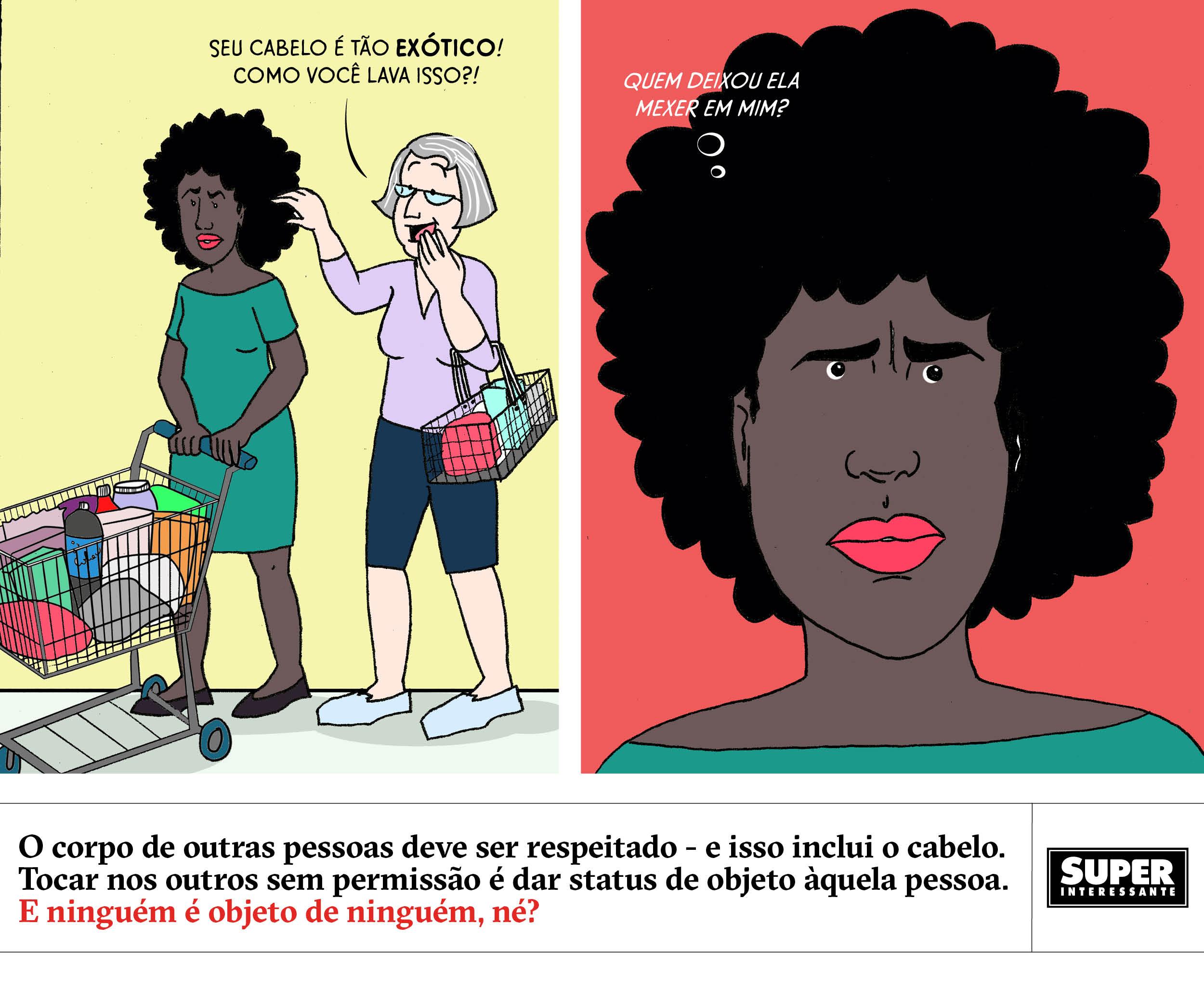 Quadrinhos - racismo