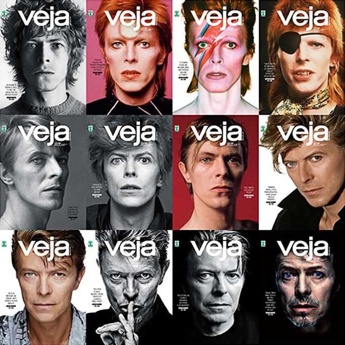 Retrospectiva Melhores Capas Bowie