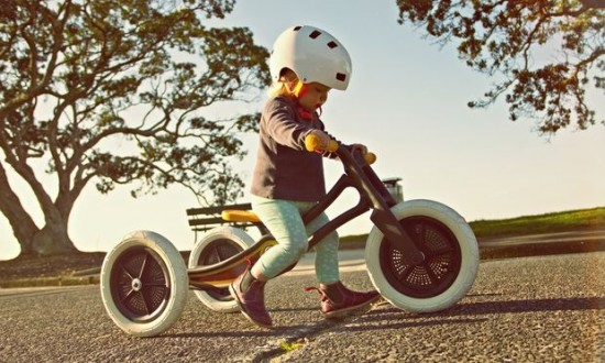 Wishbone Design creates bikes from old carpets.