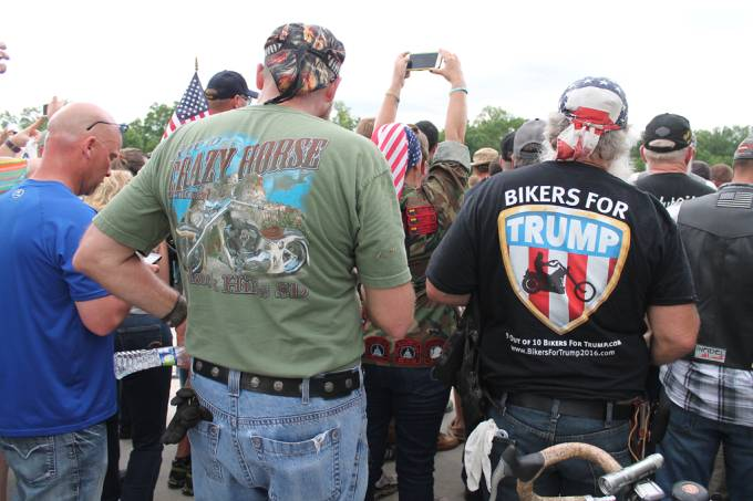 5 grupos curiosos que apoiam Trump