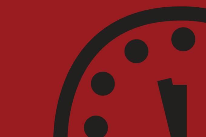 Relógio que prevê o fim do mundo acaba de ser adiantado