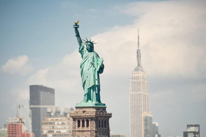 A estátua da liberdade era uma mulher muçulmana