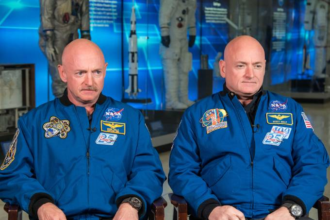 Experimento com gêmeos mostra os efeitos do espaço no nosso dna