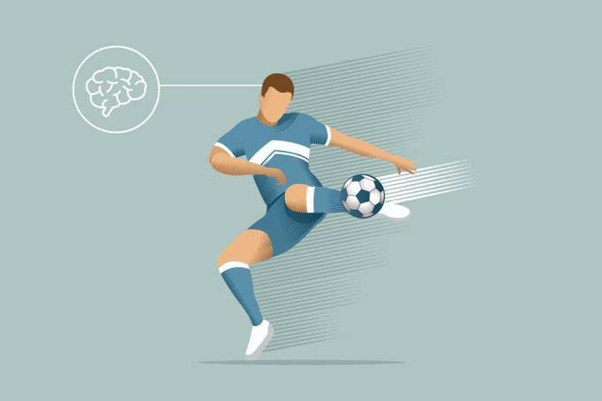 Jogadores de futebol podem ter sérios danos cerebrais