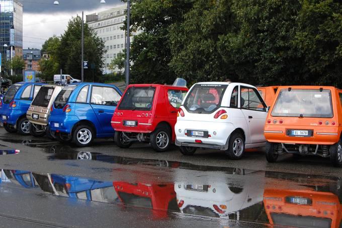 50% dos carros registrados nesse ano na Noruega são elétricos ou híbridos