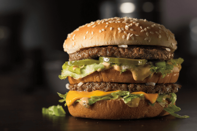Desvendamos os ingredientes do Big Mac