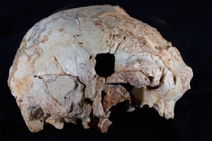 Encontrado em Portugal crânio humano de 400 mil anos