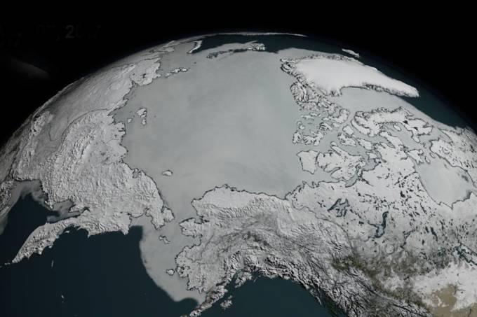 O manto gelado da Terra quebrou mais um recorde perturbador