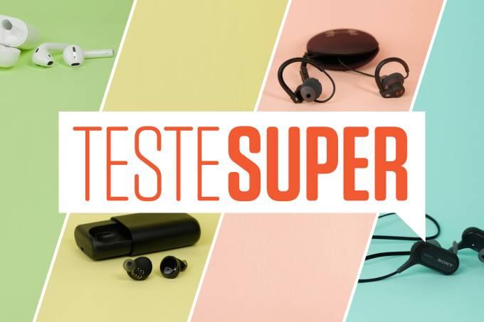 Teste SUPER: fones de ouvido