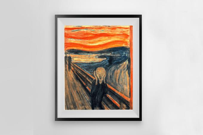 """Meteorologistas descobrem nuvem rara no céu do quadro """"O Grito"""", de Edvard Munch"""