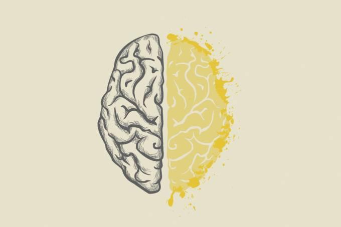 cérebro feito de xixi