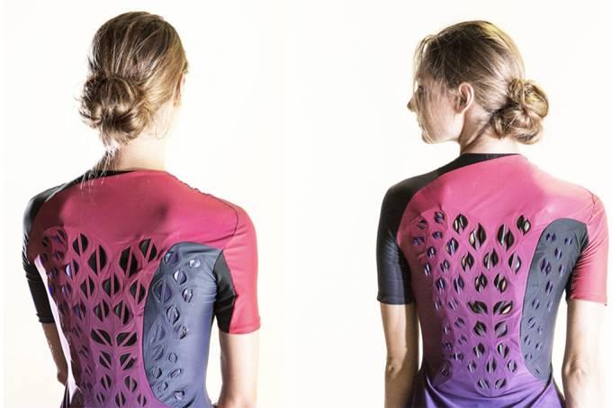 Cientistas do MIT criam roupa de ginástica que percebe quando você está suando-gb