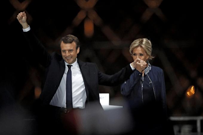 Macron e Brigitte
