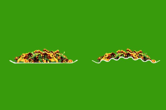 Precisa comer menos? Use um prato ondulado feito na Letônia (!)