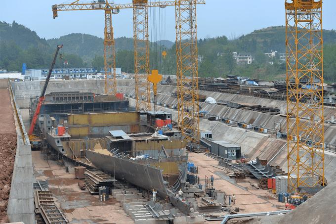 China está construindo réplica do Titanic
