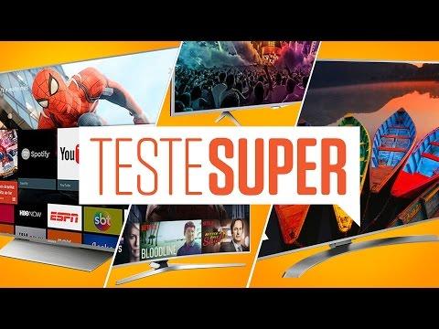 Teste SUPER #24: TVs 4K, qual é a melhor?