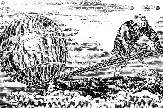 NOVAS | Arquimedes calculou o número de grãos de areia que cabem no universo