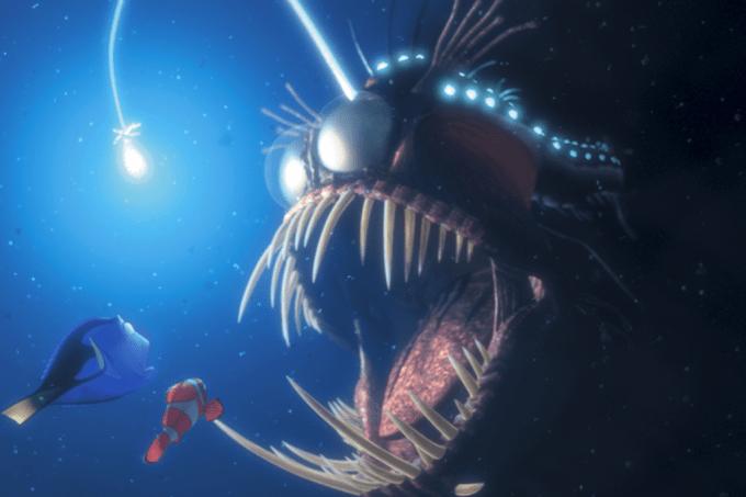 Como os peixes da zona abissal produzem luz?