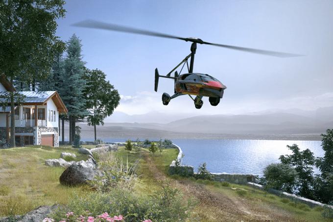 Holanda quer lançar o primeiro carro voador até ano que vem