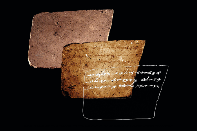"""Placa de 2,6 mil anos com inscrições em hebraico contém pedido: """"mande vinho"""""""
