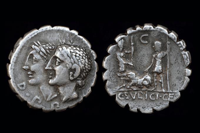 O que estas moedas de prata revelam sobre a ascensão do império romano